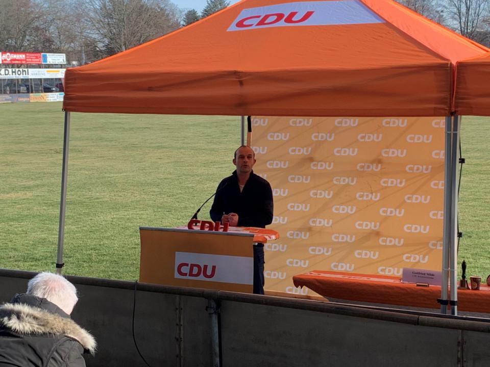 Lutz Köhler ist CDU-Landratskandidat für die Landratswahl am 30. Mai 2021